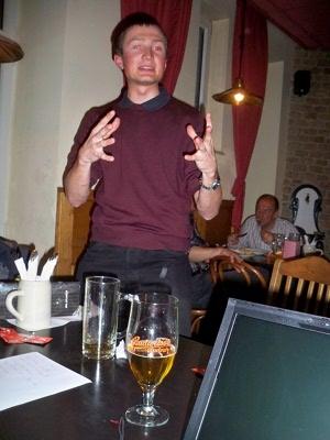 Osterdeklamation 2010 - Stefan Zweiker spricht