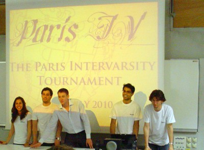 Paris IV - CA Chris Croke + Team