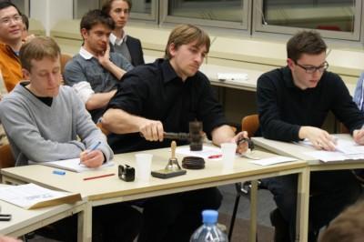 1. Wiener Debattierderby Präsidium Debatte 1