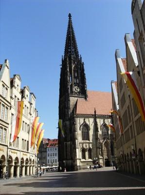 Deutsche Debattiermeisterschaft 2010 St.-Lamberti-Kirche