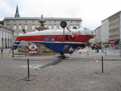 Salzburger Freundschaftsturnier 2006 Helikopterkunst