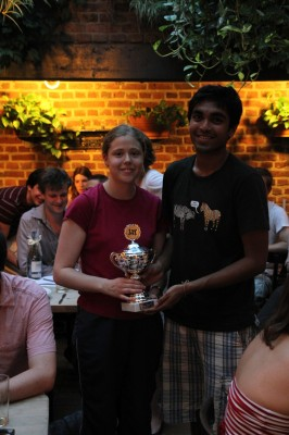 Tilbury House Summer Open 2010 Winners Oxford A