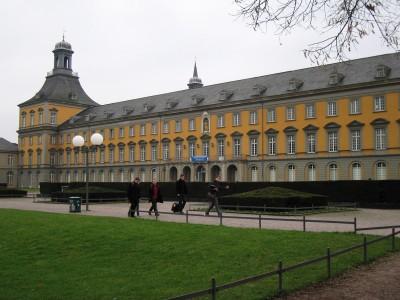 Ansicht der Bonner Universität.