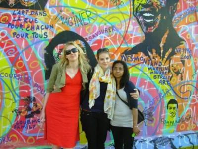 Agnieszka, Melanie, Regina