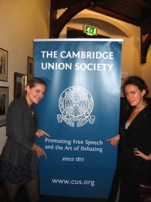 DK Wien at Cambridge IV 2011: Melanie Sindelar and Rosie Halmi