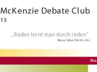 3. Baker & McKenzie Debate Club