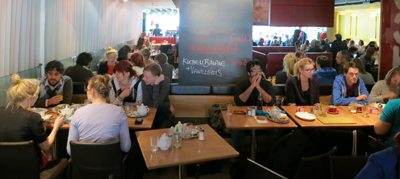 Brunch and Results at Rochus