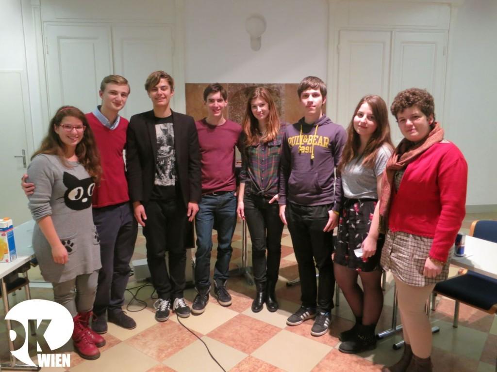 The finalists of Vienna Freshers' 2013 from Rijeka, Warsaw, Cluj-Napoca and Vienna