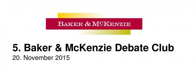 5. Baker & McKenzie Debate Club