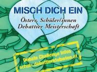 Die 1. Österreichische Schuldebattiermeisterschaft