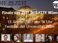 ZEIT DEBATTE Wien holt die Argumente zurück in die Debatte