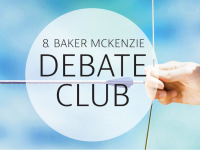 Einladung zum 8. Baker McKenzie Debate Club