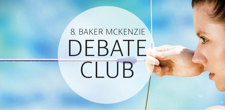 8. Baker McKenzie Debate Club Logo