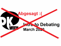 Cancelled: Intro to Debating